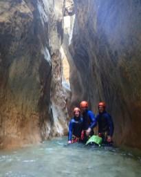 Oscuros del Balcez, Sierrra de Guara - Ur eta Lur Canyoning et Randonnée