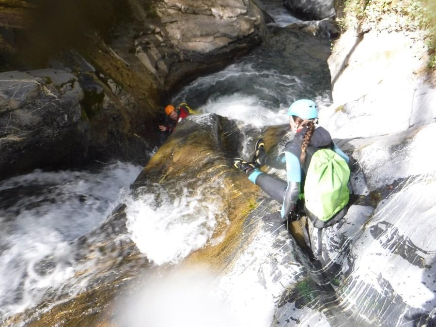 Canyon du Cangeigt Ur eta Lur, Canyoning, Spéléo et Randonnée