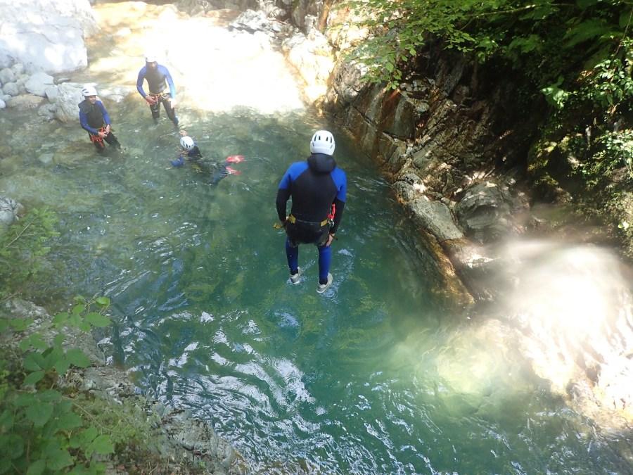 Canyon de Bious, Ur & Lur, Canyoning, Spéléo et Randonnée