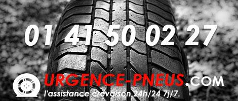 réparation de pneu crevé sur place 7j/7