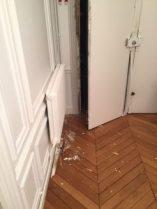 Porte fracturée serrurier paris 1 réparation et remplacement de porte
