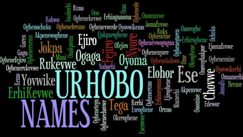 Urhobo Names