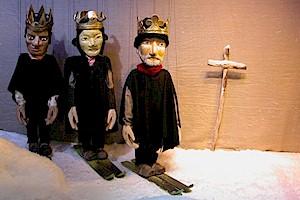 Marionettenb252hne GelbSchwarz 421