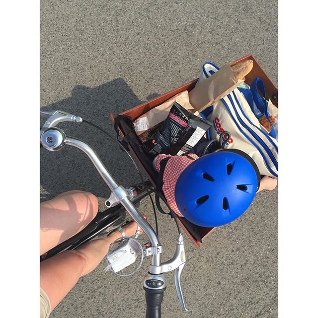 Shopping by Bakfiets