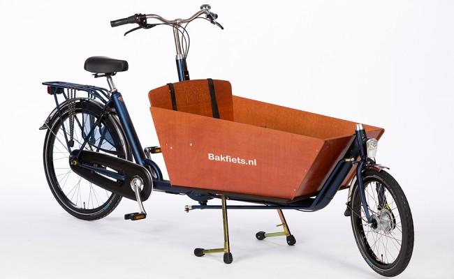 Bakfiets_NL-cruiser-cargobike-long-matte-blue-Urkai-Burlington-Ontario-Canada-Toronto