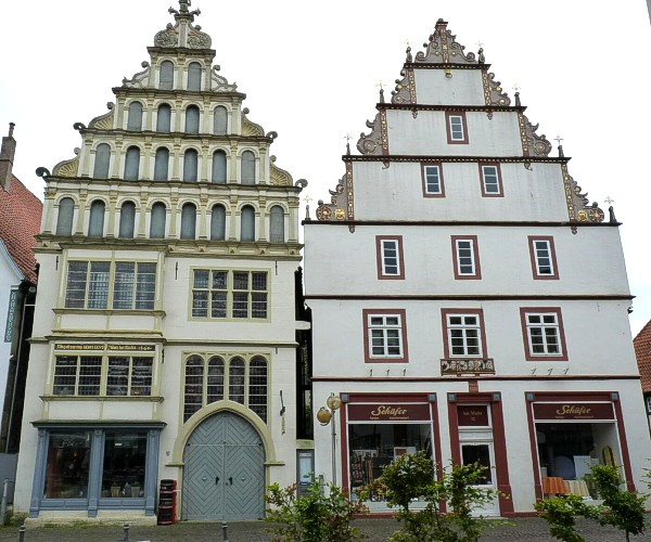 Historische Gebude in Bad Salzuflen  Bilder der Bauwerke