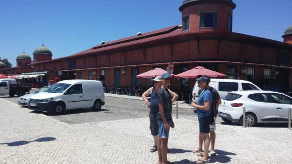 Olhao Markthalle