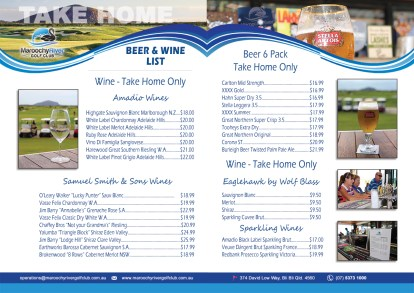 A4 Beer Wine List Page 2 - 3
