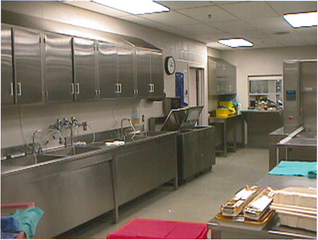 Photo Tour  Sterile  Materials Processing Department  University of Rochester Medical Center