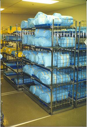 Photo Tour  Sterile  Materials Processing Department