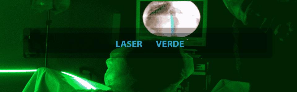 cirugía de próstata con láser de luz verde de