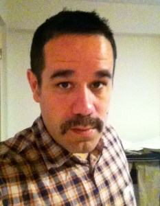 My Movember Mustache in support of testicular cancer