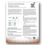 Prostate Cancer Screening Decision Tool