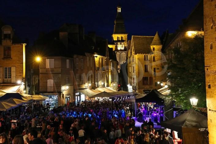 Fête de la musique à Sarlat de nuit