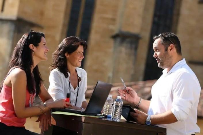 Photo de réunion pour le tourisme incentive à Sarlat
