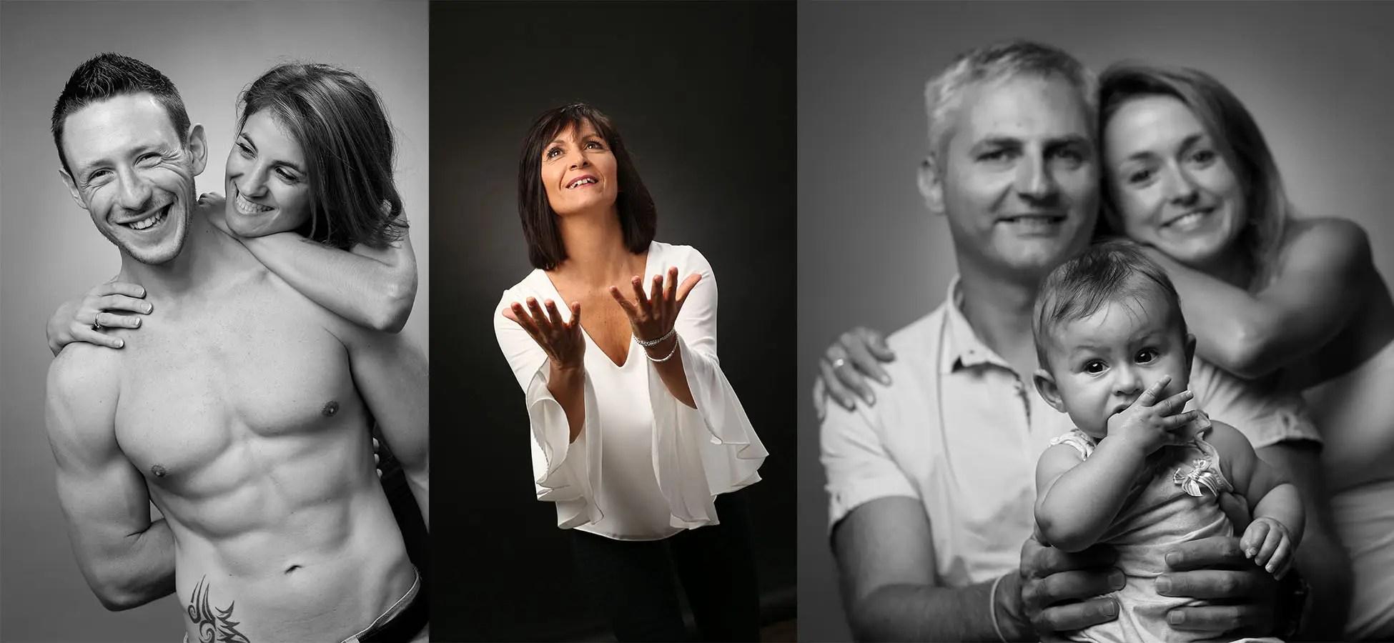 Photographe Grenoble : Triptyque de photos en Studio sur l'Isère