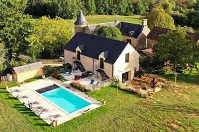 Agence Photo Vidéo : Photo de maison par drone
