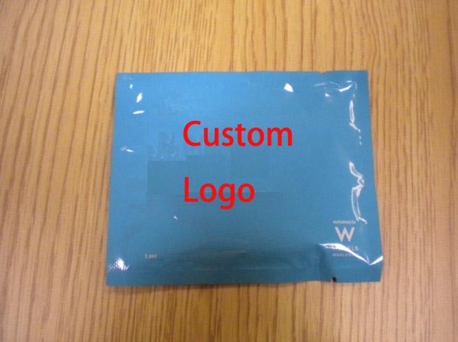 custom moist towelette disposable