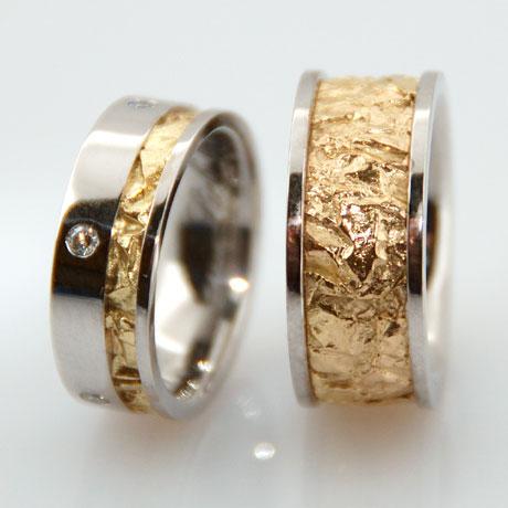 Trauringe Trauring Einzelstcke Unikate Gold Platin Diamanten