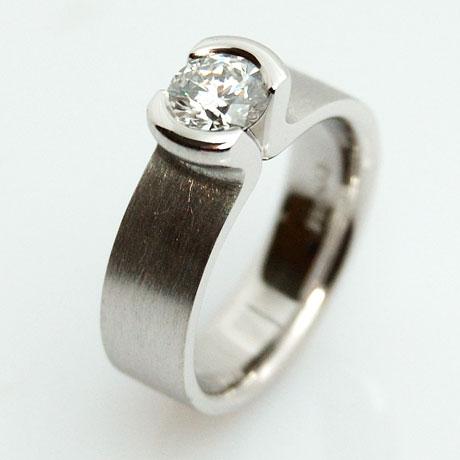 DiamantSolitrRing Diamantringe Verlobungsring