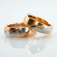 Partnerringe in Gold Platin individuell hergestellt