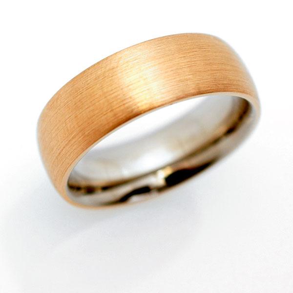 Ehering in Gold Platin individuell hergestellt Goldschmied Kaufmann Olten