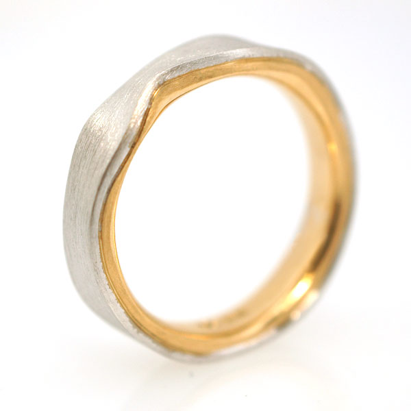 Ehering in Gold Platin individuell hergestellt Goldschmied
