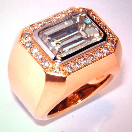 Ringe Schmuck Pomps mit Diamanten Brillanten vom Goldschmied