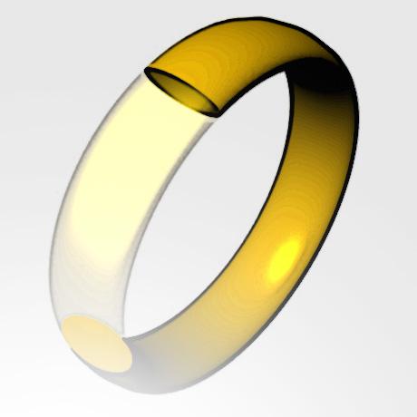 Trauring in Gold Platin individuell hergestellt Goldschmied Kaufmann Olten