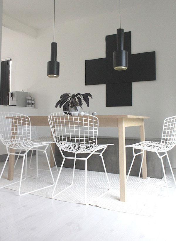 Draadstoelen in je interieur  Interieur Inspiratie Woonkamer