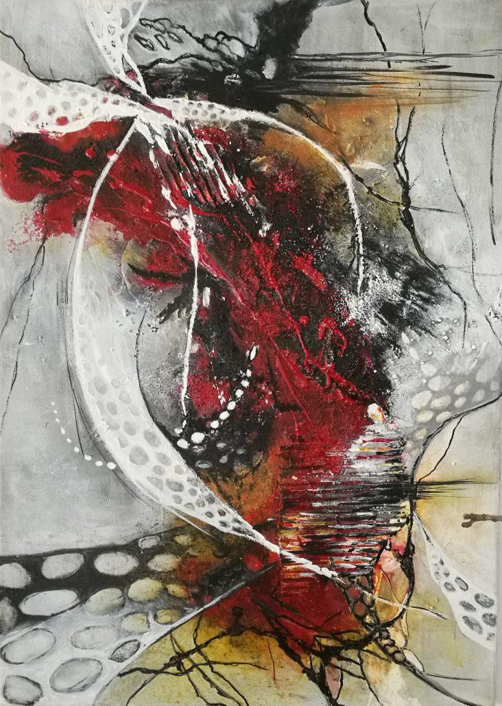 Ursula Schmidt  Atelier fr Kunstmalerei  Abstrakte Bilder
