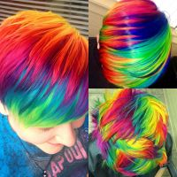 Secrets of Haley's Rainbow Hair