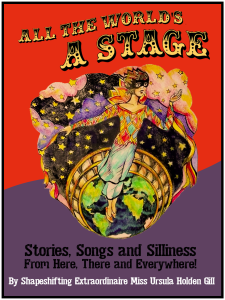 All the World's a Stage, Flyer