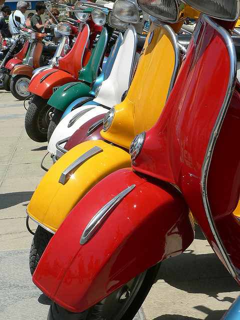 image of scooters at Torrox Costa