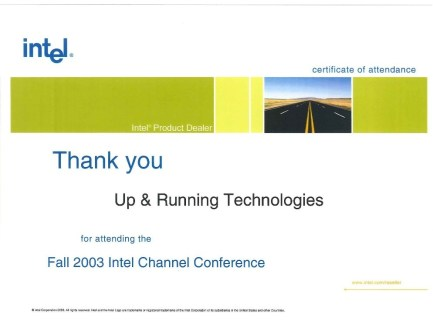 Intel-Channel-Conference-Fall-2003