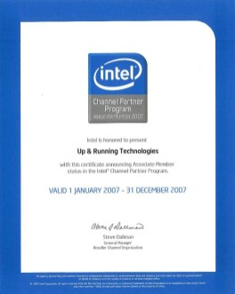 Intel Product Dealer 2007