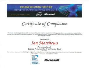 Microsoft-Intel-Technical-Server-Training