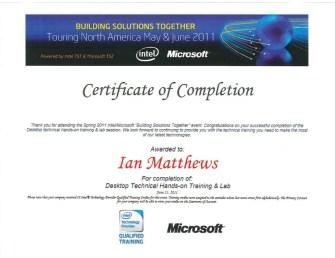 Microsoft-Intel-Technical-Server-Training