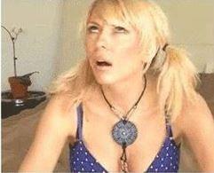 Blond Women Rolling Eyes
