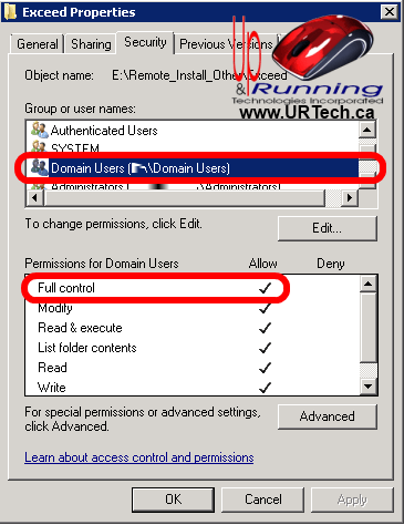 no-software-installation-data-object-in-the-Active-Directory-solved-permissions