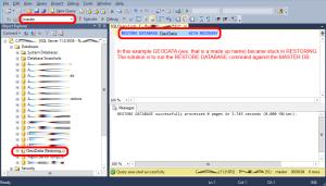 solved-SQL-Database-Hung-on-RESTORING