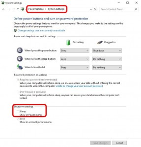 remove-sleep-option-from-start-menu-windows-10