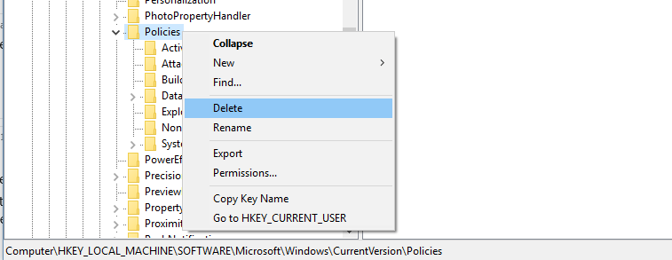 how-to-remove-group-policy-some-settings-are-controlled-by-your-organization-windows-update-microsoft-accounts