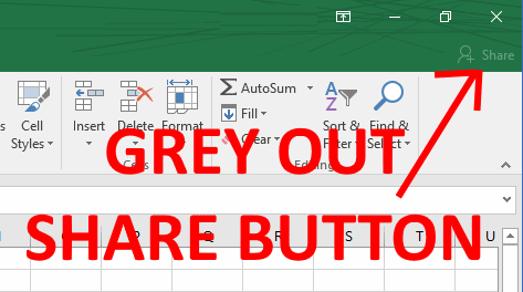 SOLVED: How To Disable SHARE Button in Office 2016 Using a GPO – Up