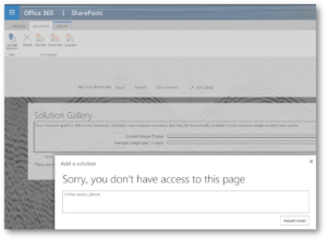 shareopoint-online-365-solutions-you-dont-have-access-to-this-page