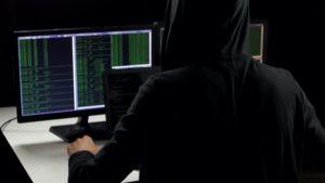 hacker-writing-code