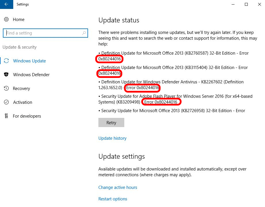 SOLVED: How To Fix Windows Update Error 0x8024416 & Patch