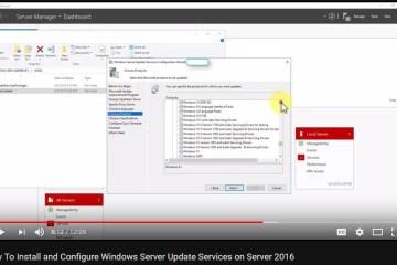 Install-Configure-Windows-Server-Update-Services-Server-2016