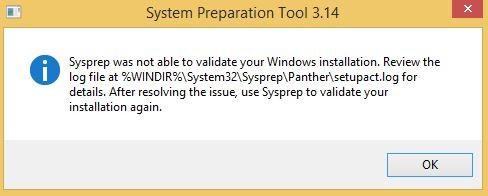 sysprep-setupact-log-error