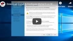 install-config-mysql-server